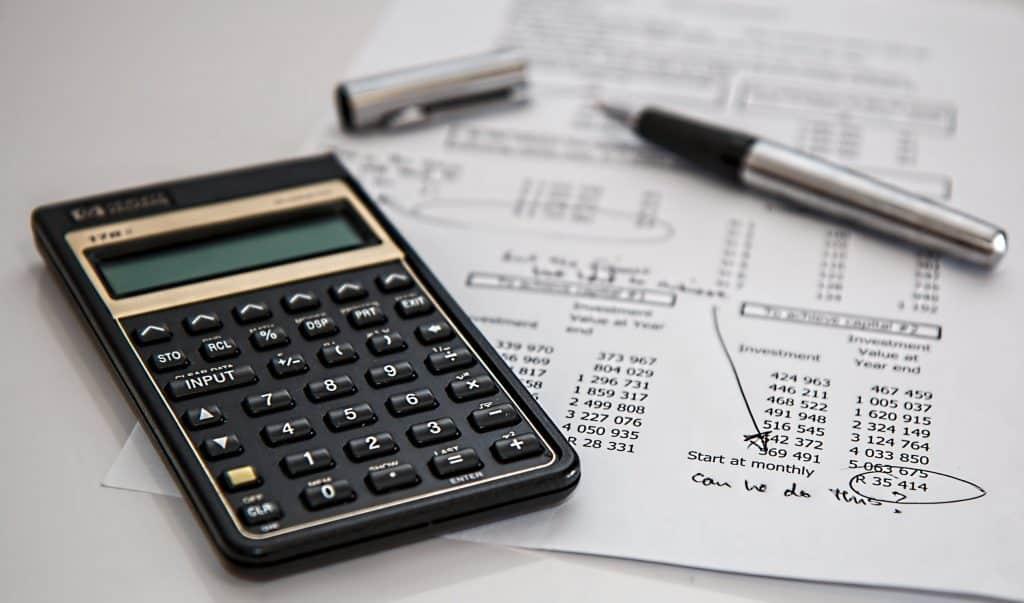 מחירון שירותים פיננסיים
